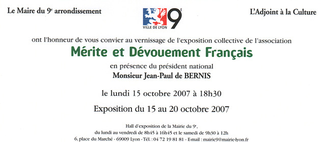 expo 15 octobre